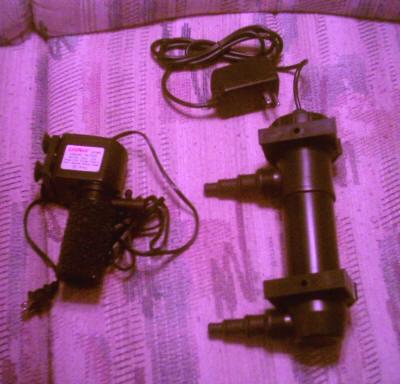 Diy uv sterilizer for Uv pond light installation
