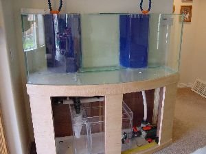 Diy how much does it cost to build your own aquarium stand for How much does a 20 gallon fish tank weigh