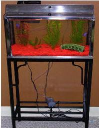 LEAKING AQUARIUM PRANK Images - Frompo 10 Gallon Fish Tank Stand Metal