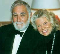 Herbert Axelrod with his wife, Evelyn (photo: New Jersey Symphony Orchestra)