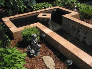 Garden pond for Garden pond overflow design